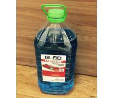 Стеклоомывающая жидкость Gleid Exclusive -30 Blue 5л