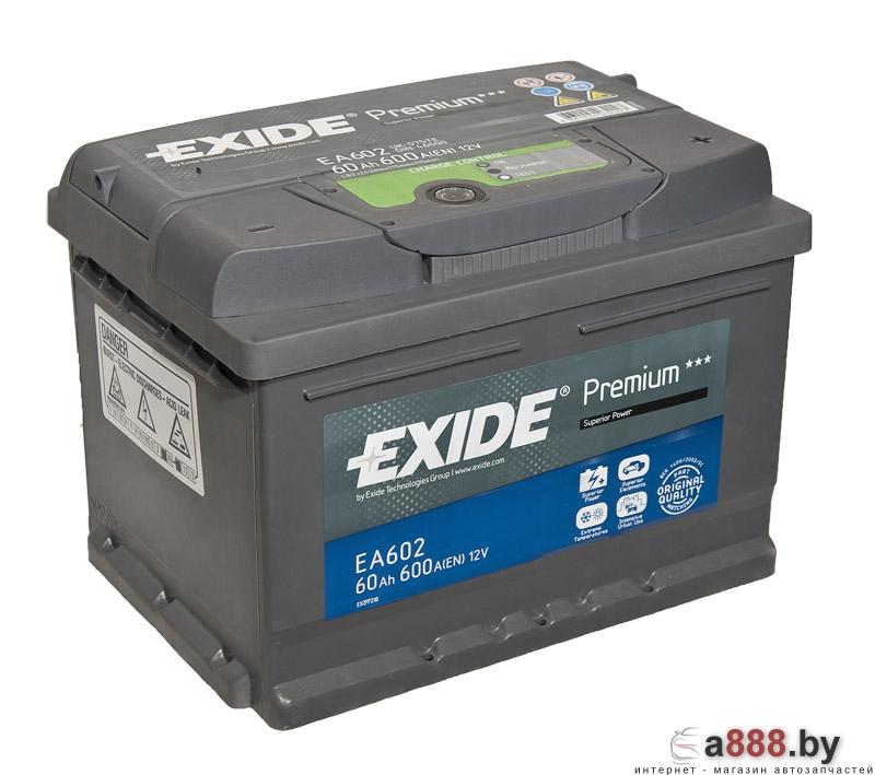 Exide Premium EA612 (60 А/ч)