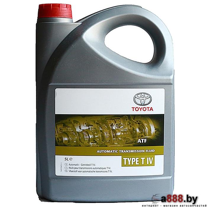 Трансмиссионное масло TOYOTA ATF Type T-IV (0888682025) 5л